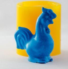 Форма для мыла Петух 2 3D (силикон)