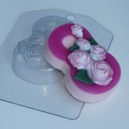 Форма для мыла 8 Марта/Розы
